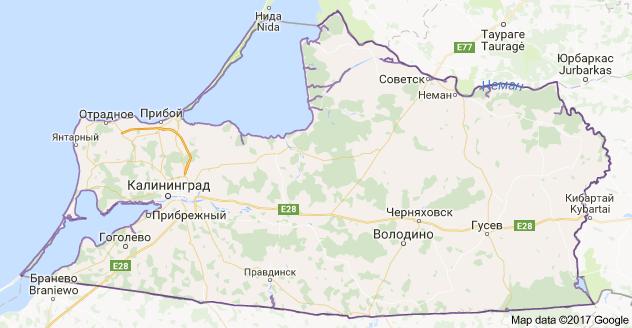 город Калининград и Калининградская область