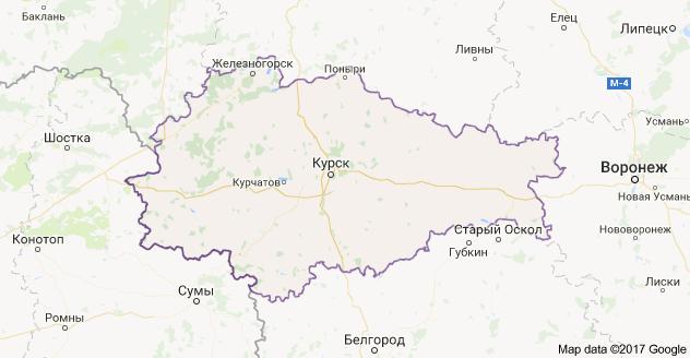город Курск и Курская область