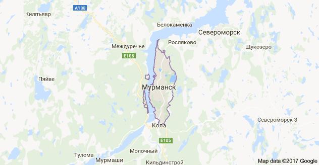 город Мурманск и Мурманская область