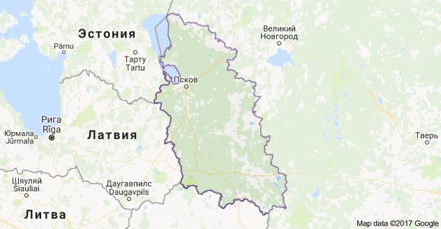 город Псков и Псковская область