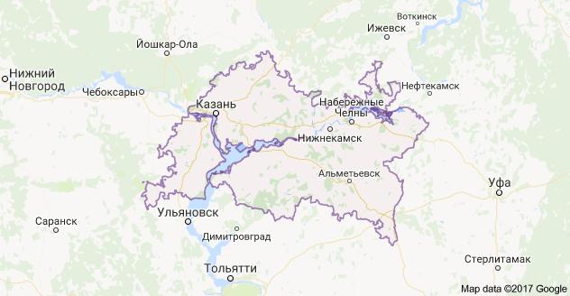 город Казань и Республика Татарстан