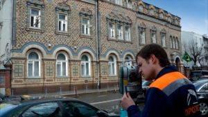 Фасадная контрольно-геодезическая съемка здания