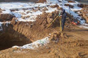 Геодезический контроль канализационных систем