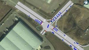 Планирование автомобильных потоков на улицах города