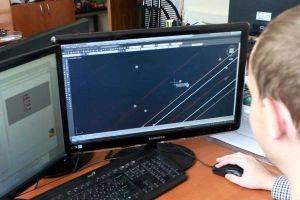 Подготовка чертежа трассы для движения транспорта