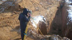 Подготовка исполнительных схем разработки котлована при строительстве фундамента