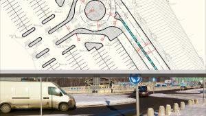 Проектирование участков автомобильных трасс