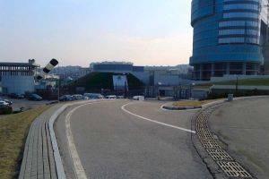 Проведение съемок для автомобильных дорог