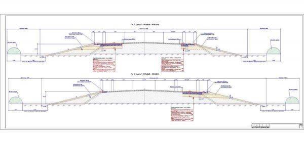 Разработка проекта продольных профилей дорог