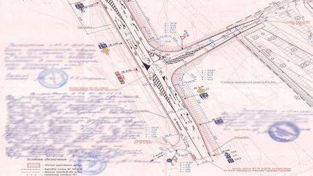 Разработка топографических планов для дорожного проектирования