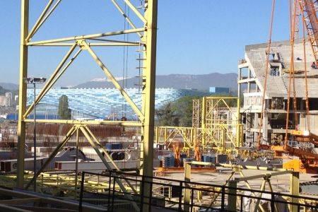 Геодезические услуги при строительстве стадиона