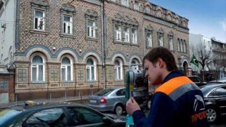 Съемка фасадов в Москве