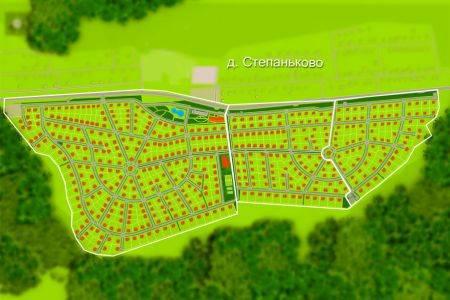 Проектные работы и разработка документации дороги в Степаньково