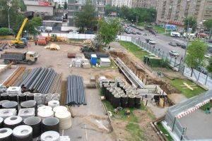 Строительно-монтажные работы для проекта отвода сточных вод