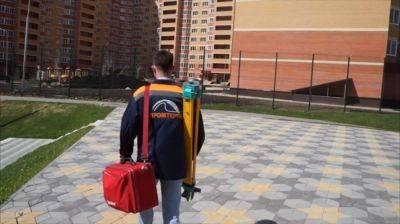 Топосъемка в городе Зеленоград