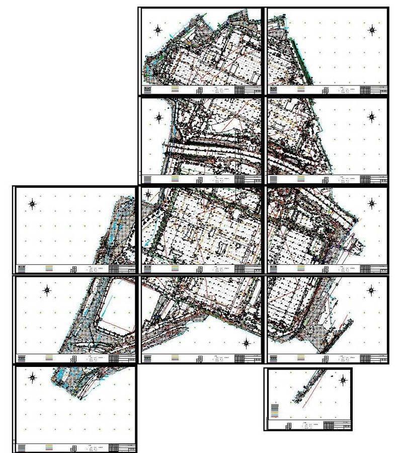 топографический план местности