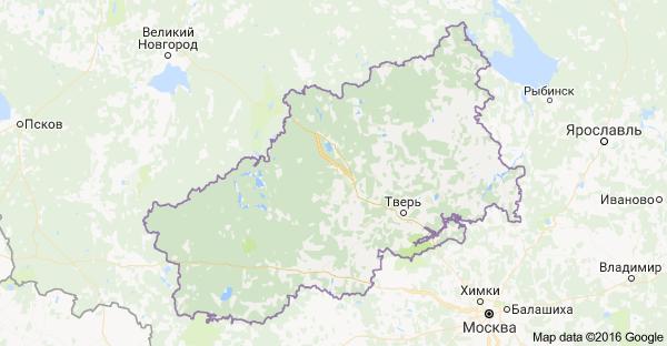город Тверь и Тверская область