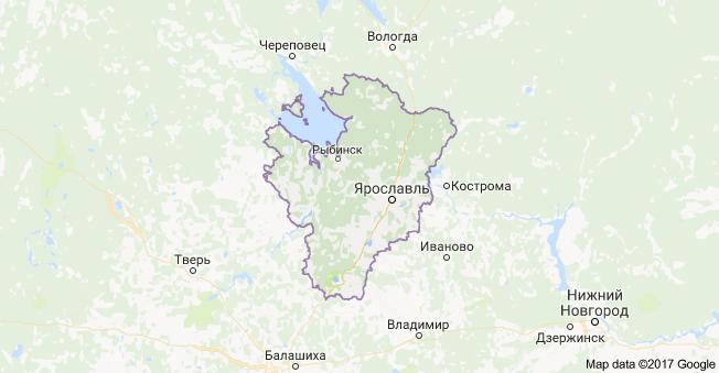 город Ярославль и Ярославская область
