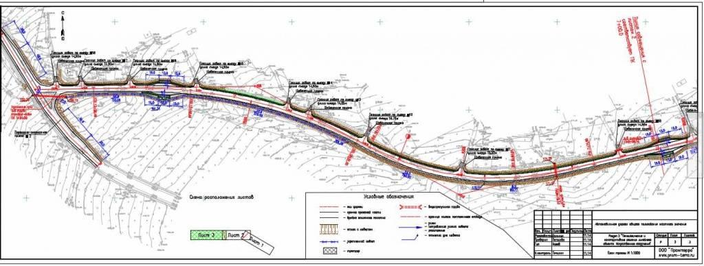 проект дороги